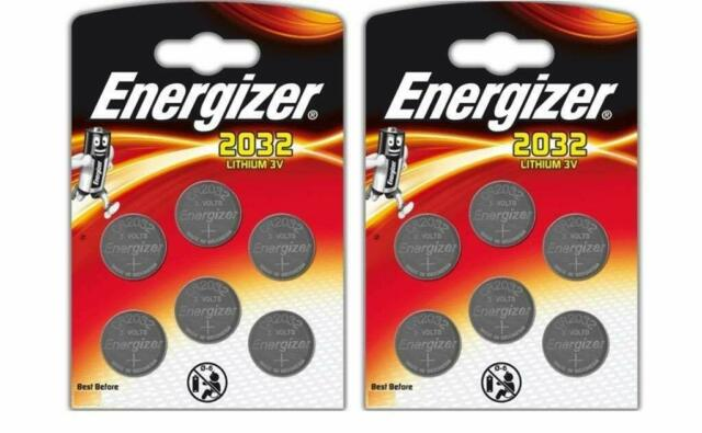 12 x CR2032 Coin Lithium 3V Battery Batteries for Watches Torches Keys
