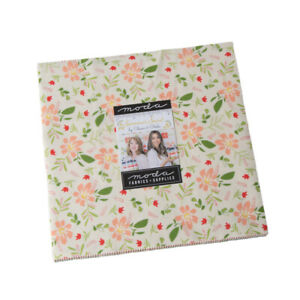 Summer-Sweet-Layer-Cake-Moda-42-10-034-Fabric-Square-100-Cotton-37580LC