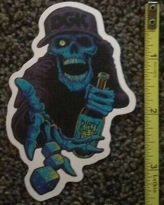 DGK sticker dollar bill skate skateboard cell laptop bumper decal