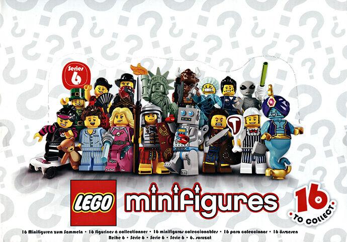 LEGO 8827 Mini-figures Series 6 Sealed Case (Box of 60)