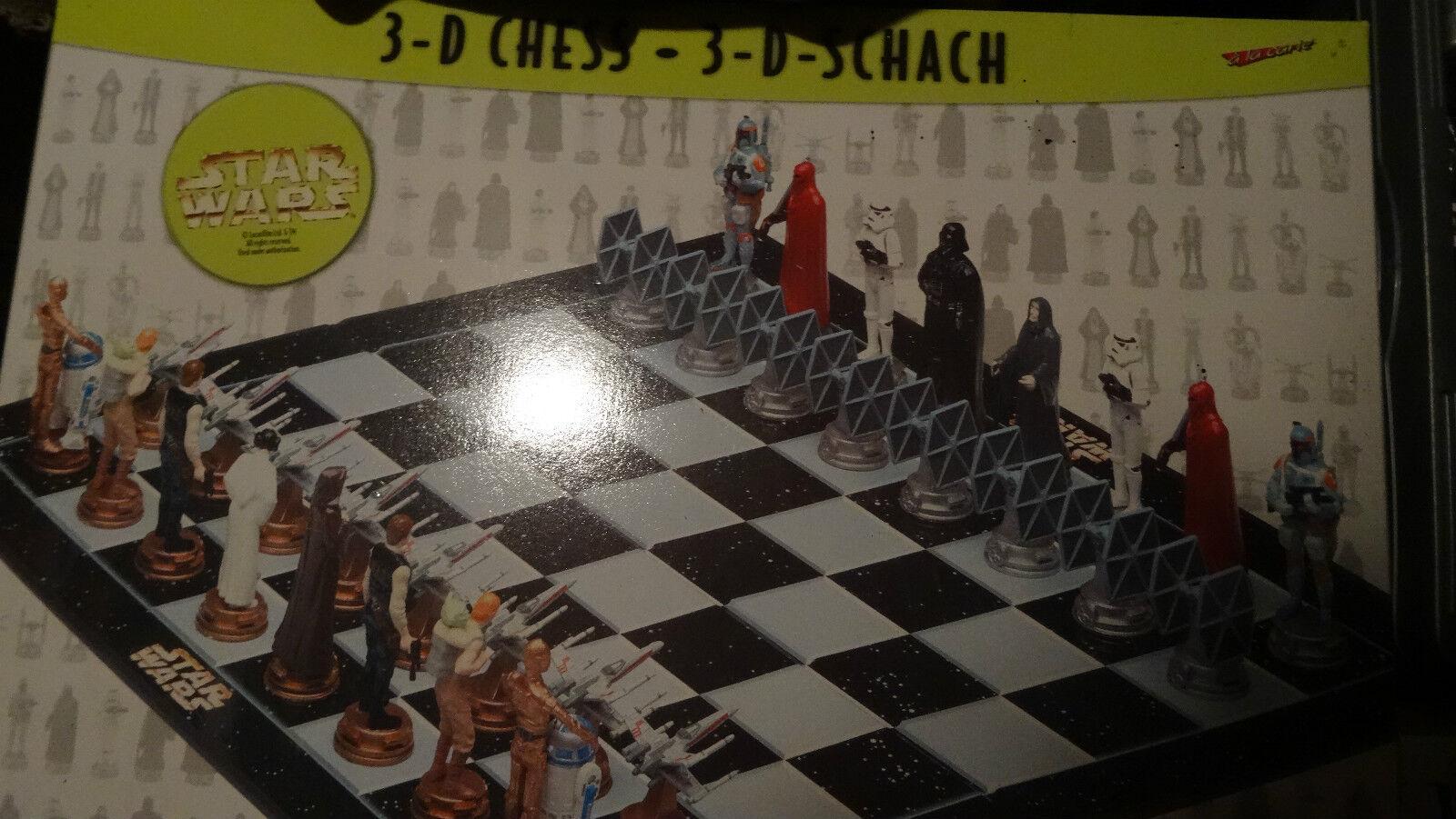 Star Wars 3D - - -  Schach - Trilogie 4-6   OOP - OOS - RAR - Collectors Edition d7c8f4