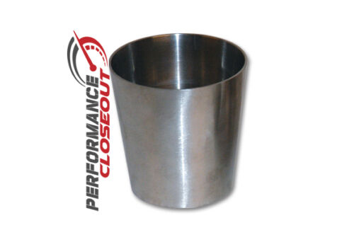 """Vibrant Stainless Steel Piping 3/"""" to 4/"""" Concentric Exhaust Reducer Part# 2632"""
