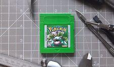 Nintendo Gameboy, POKEMON VERSIONE VERDE Cartuccia, in plastica non dipinto SHELL!