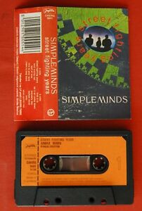 SIMPLE-MINDS-STREET-FIGHTING-YEARS-RARE-EXYU-CASSETTE-TAPE