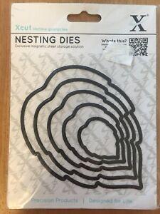 Xcut docraft Nesting Dies feuilles 2 (5 pièces) non utilisé
