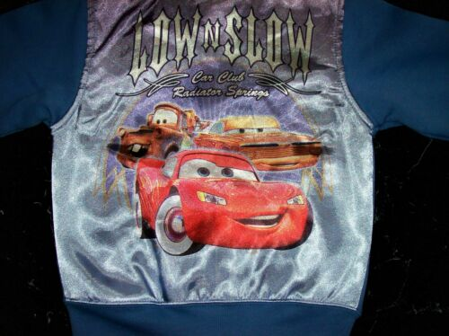 Cars Jacket Disney Pixar the World of Cars Hot Roddin Select Sz 18 24 Month NWOT