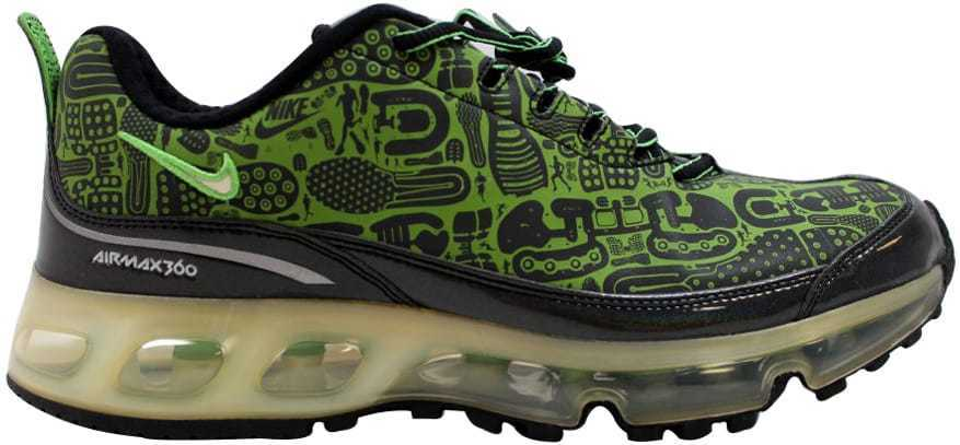 Nike Air Max 360 Rejuvenation nero verde verde verde Bean-bianca 313520-031 Men's SZ 8 af621b