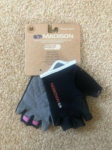 Madison Track Mitt Gloves Black Size Medium
