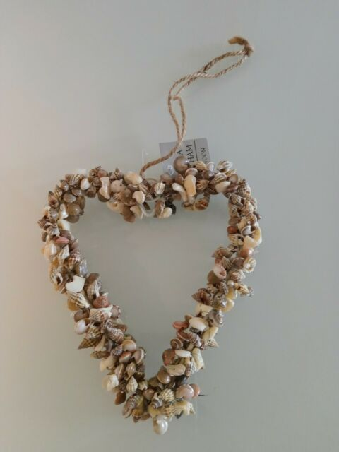 Shell Heart Decoration by Gisela Graham