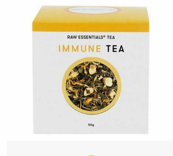 3 x 50g Raw Essentials Tea Immune Loose Leaf Tea 150g