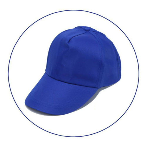 Womens Mens Adjustable Baseball Cap Solid Color Hip Hop Hats Outdoor Accessories