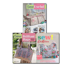 Debbie Shore Sew Collection 3 Books Set Sew Brilliant Bags & Sew Useful Pack NEW