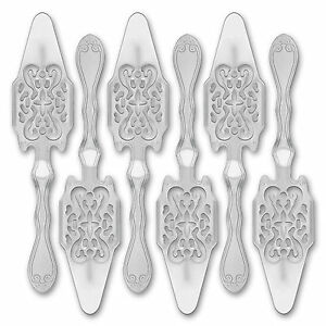 6x-Absinth-Loeffel-Antique-Absinthe-Spoon-Cuillere-a-Absinthe-originale