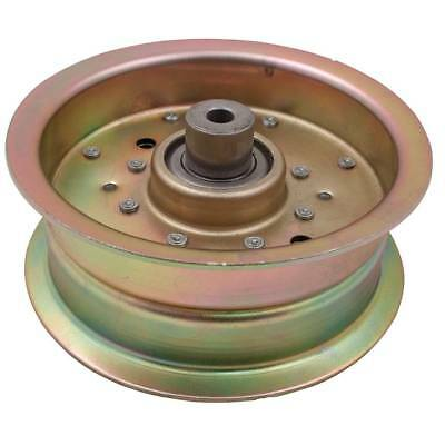 SCAG 483210 481962 STEEL FLAT IDLER PULLEY W//FLANGES FITS SEVERAL DECKS /& SIZES