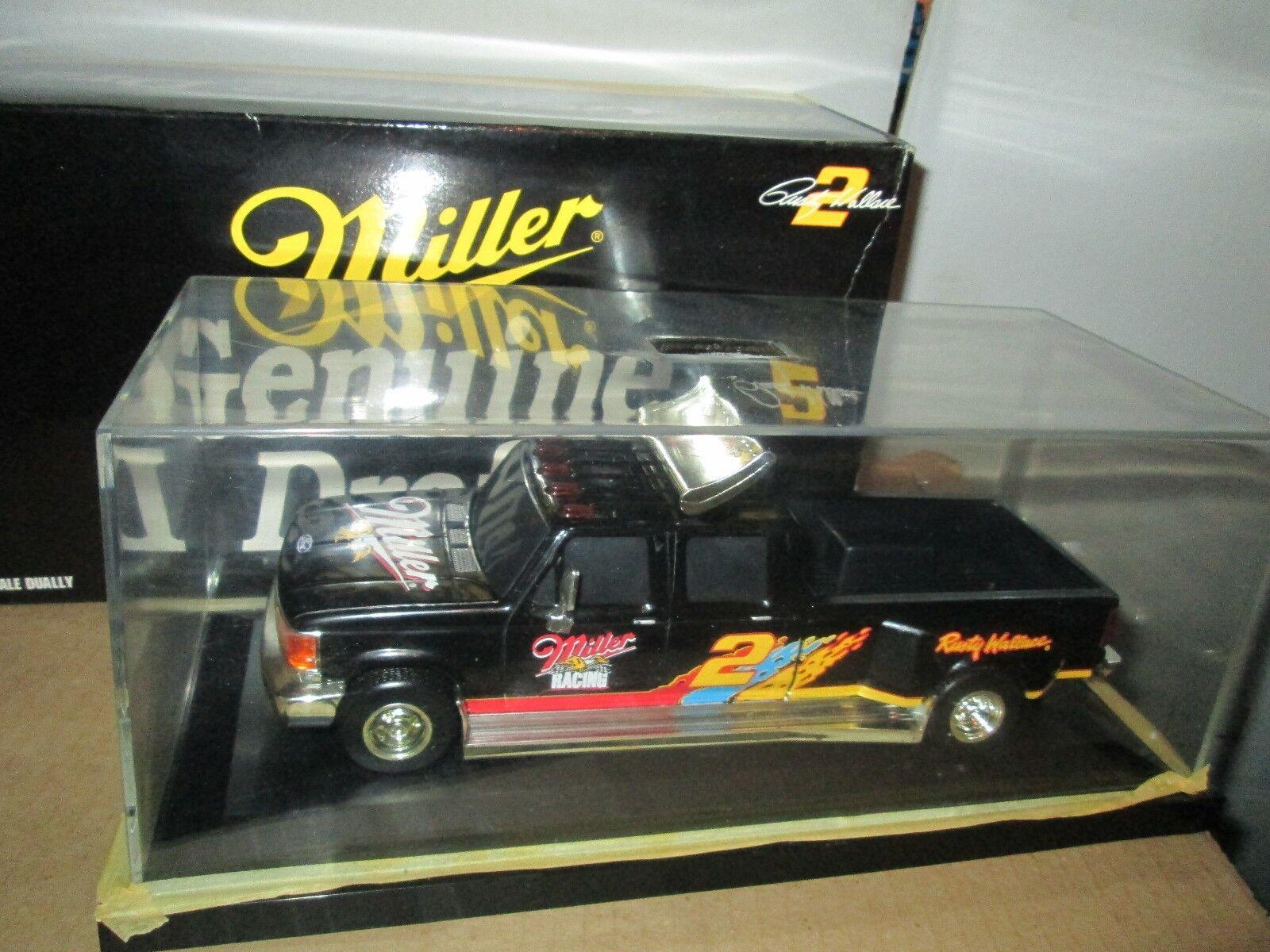 Ford F350 Dual 1 Ton Rostige Wallace 1 24 Truck 4dr Doppelkabine Miller Echt