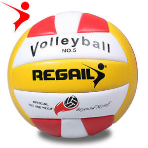 REGAIL-No-5-Official-Size-Volleyball-Training-Racing-Competition-Thickend-Ball