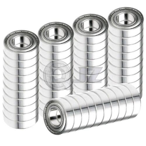 50x 698-ZZ Ball Bearing 8mm x 19mm x 6mm ZZ 2Z Free Shipping NEW Metal