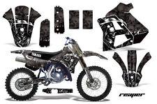 YAMAHA WR 250Z Graphic Kit AMR Racing # Plates Decal Sticker Part 91-93 RPB