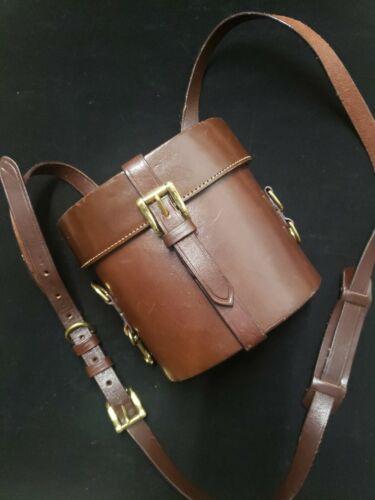 Joan &David Brown Leather Crossbody Bag