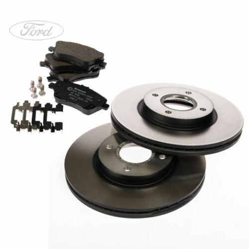 Ford Focus MK2 CABRIOLET 2.0i Motorcraft Front Brake Discs /& Pads Set 06-10
