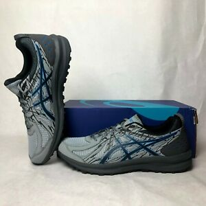 Men-039-s-Size-11-ASICS-Frequent-Trail-Running-Shoes-1011A034-020-Grey