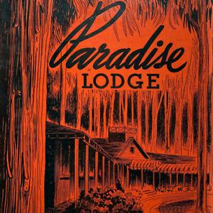 Vintage 1940s Paradise Lodge Inn Dinner Menu Oregon Mt Rainer National Park