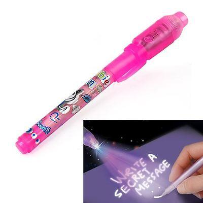 Childrens Pink Secret Pen Party Bag Fillers Boys Girls Loot Toys Kids