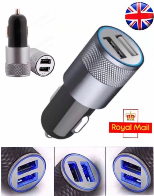 New Dual USB Car Charger 3.1A 2 Port Universal Charging For Samsung iPhone HTC
