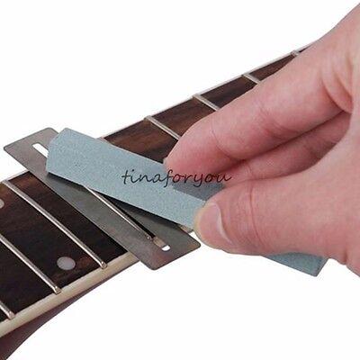 Guitar Bass Fretboard Fret Protector 2pcs+ Fretwire Sanding neck polish luthier
