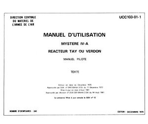 AVIONS-MARCEL-DASSAULT-MD-545-MYSTERE-IVA-MANUEL-PILOTE