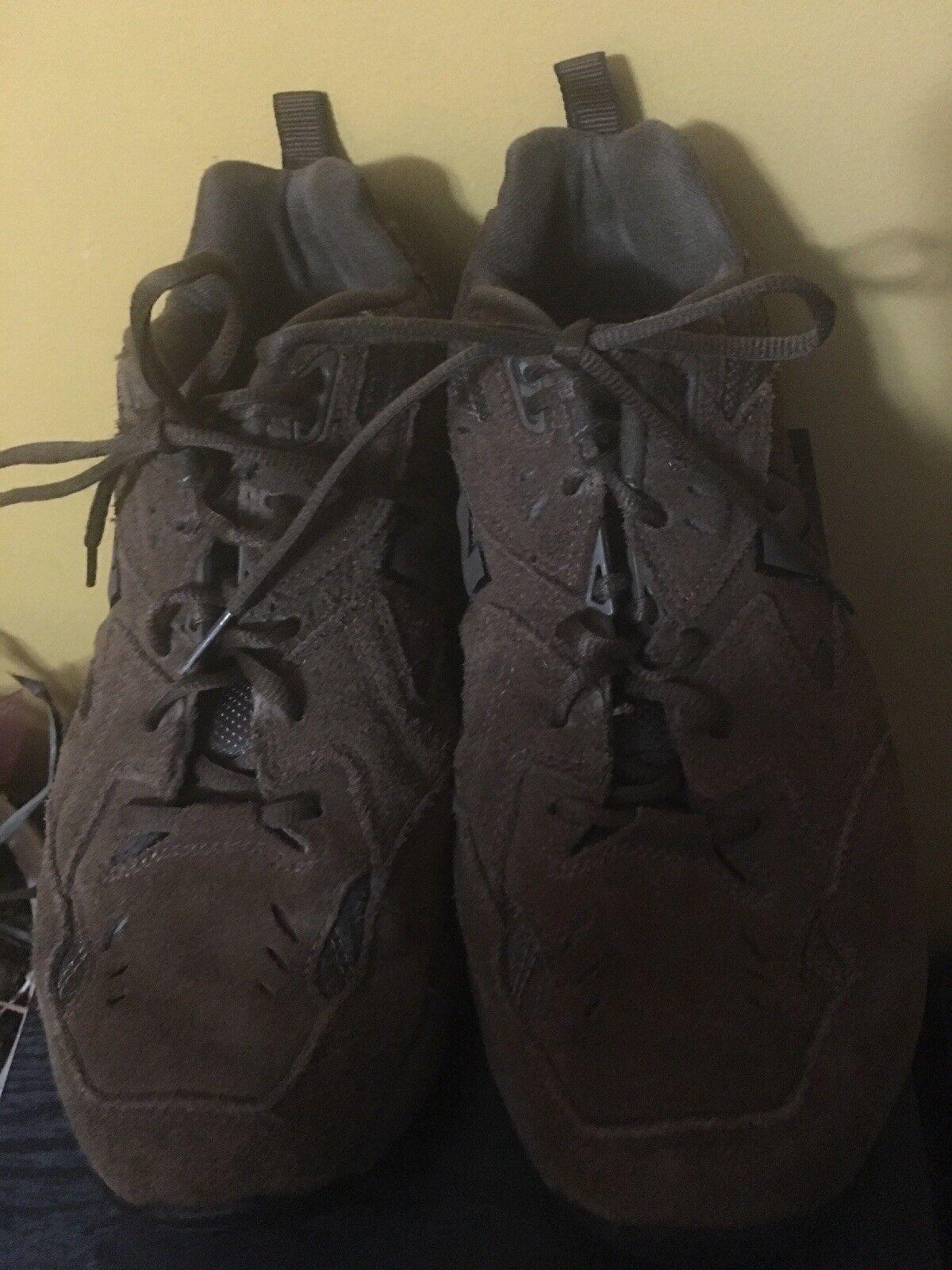 New Balance hombres zapatillas de entrenamiento mx6080 Dark Marrón Suede ancho SZ.10 4e nosotros extra ancho Suede 22cbbd