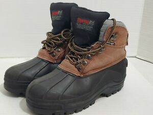 Youth Winter Boots Size 4 Thermolite Insulated Lake and Trail Blizzard Lace Up