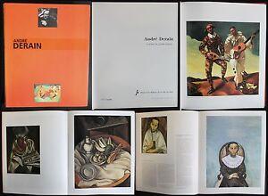 Andre-Derain-Le-peintre-du-trouble-moderne-1994-Katalog-Musee-d-039-Art-Paris-xz