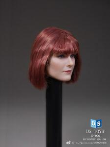 DSTOYS 1/6 Scale Short Hair Head Sculpt Model For 12