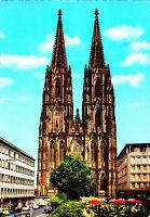 Köln am Rhein , Dom ; Ansichtskarte 19?? gel.