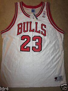Michael-Jordan-23-Chicago-Bulls-NBA-Champion-Trikot-52-2XL-Nwt-Neu