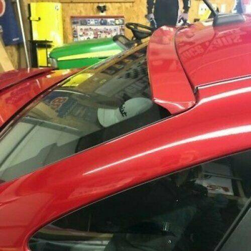 Flat Black 229 VRO Rear Window Roof Spoiler Wing For 12~18 Ford Focus MK3 Sedan