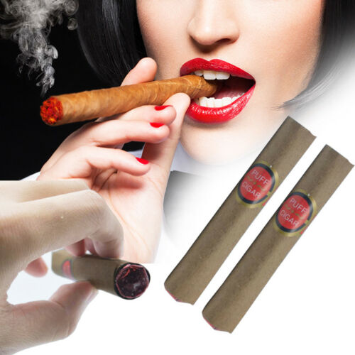 Fake Smoking Cigar Toy Fancy Dress Costume Prank Joke Lit Random Delivery