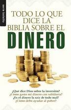 Serie Bolsillo: Todo lo Que la Biblia Dice Sobre el Dinero (2011, Paperback)