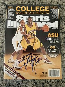 sale retailer 8ee5f d1fca Details about James Harden & Briann January Signed Sports Illustrated  Magazine Autographed