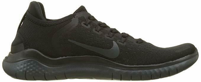 dcdfab65c82 Nike RN 2018 Womens 942837-002 Black Anthracite Knit Running Shoes ...