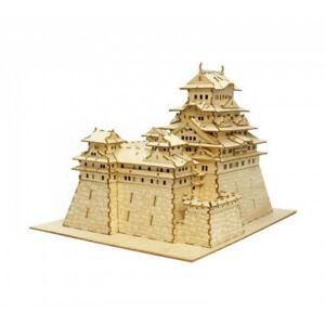 Kigumi Ki-gu-mi Château en bois Art-Himeji