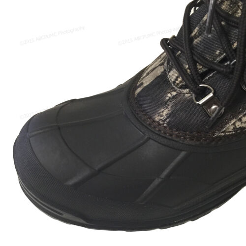 New Men/'s Winter Snow Boots Camouflage Waterproof Insulated Hunting Thermolite