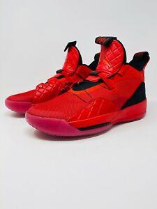 Details about Nike Air Jordan XXXIII 33 Basketball RedBlack (AQ8830 600) Men's Size 9.5
