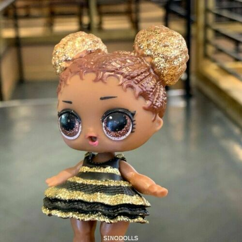 Ultra Rare LOL Surprise Doll L.O.L SERIES QUEEN BEE HTF GLITTER Dress shoes