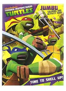 image is loading tmnt teenage mutant ninja turtles coloring book activity - Teenage Mutant Ninja Turtles Coloring Book