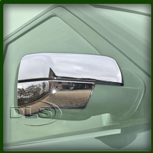 DLS347 RANGE ROVER L322 STYLISH CHROME DOOR MIRROR FINISHER KIT /'05 on