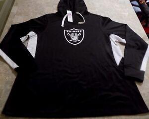 Oakland-Raiders-Cool-Base-Hoodie-Ladies-2XL-Black-Womens-NFL
