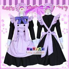 Card Captor Tomoyo Daidouji SAKURA Lolita Girl Maid Fancy Dress Costume one size
