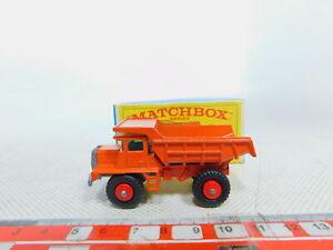 By340-0-5-Matchbox-n-28-Dump-Truck-kipper-hinterkipper-camion-mack-embalaje-original